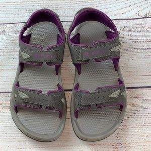 Columbia Techsun III Water Sandals Shoes 8 Gray